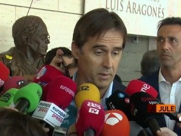 """Julen Lopetegui, sobre Villar: """"Su trato con nosotros a nivel deportivo ha sido exquisito"""""""