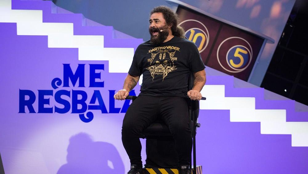 La malvada palabra que ha chamuscado a El Sevilla en 'Me Resbala'