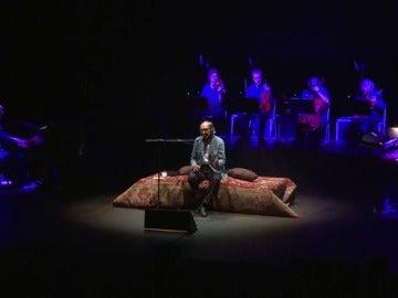 El cantante siciliano Franco Battiato cautiva a La Mar de Músicas
