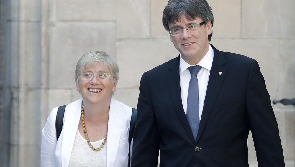 La secretaria de Enseñanza de la Generalitat y número dos de este departamento, María Jesús Mier,