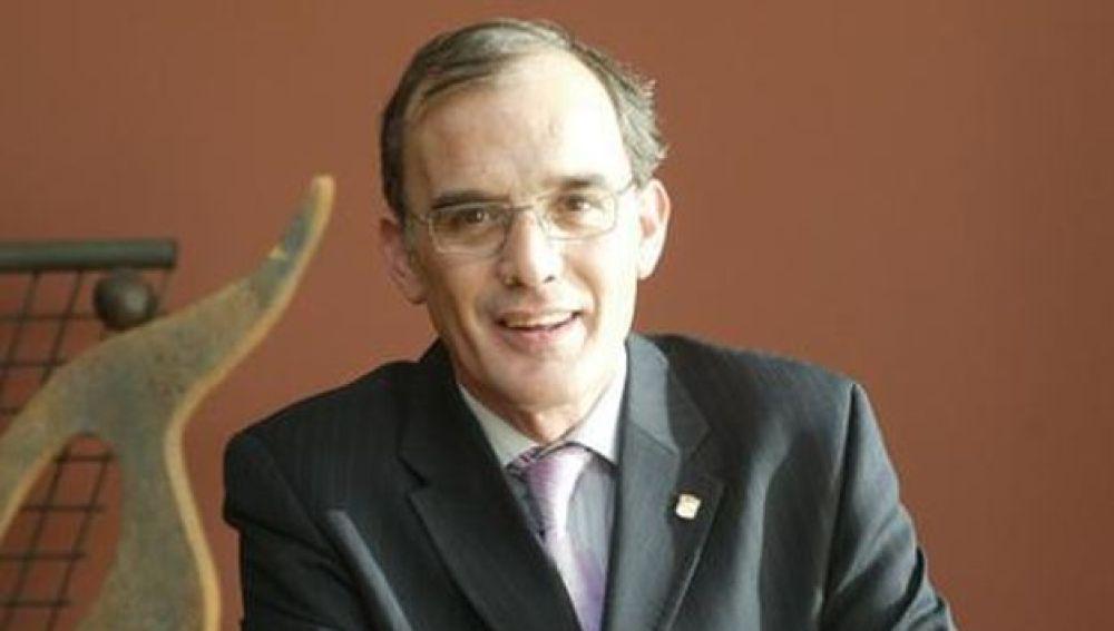 Marcelino Maté durante una conferencia