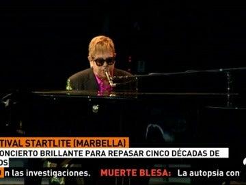 Elton John brinda una inolvidable velada de éxitos a sus incondicionales en el festival Starlite Marbella