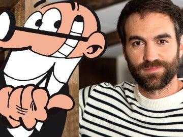 Te contamos por qué Jon Plazaola se siente como Mortadelo en 'Allí Abajo'