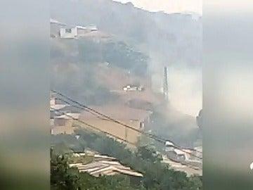 Extinguido el incendio forestal en los Asperones, en la ciudad de Málaga