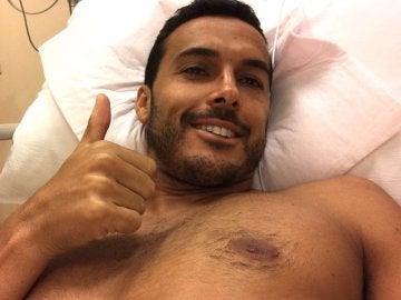 Pedro, en el hospital