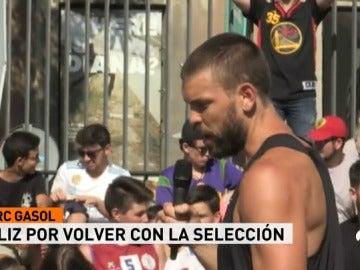 """Marc Gasol: """"Somos el rival a batir en el Eurobasket"""""""