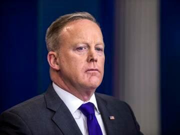 Sean Spicer, exportavoz de la Casa Blanca