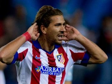 Alessio Cerci, con el Atlético