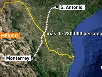 Hallan muertos a ocho inmigrantes dentro de un camión aparcado en Texas
