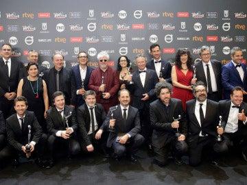 Ganadores de los Premios Platino 2017