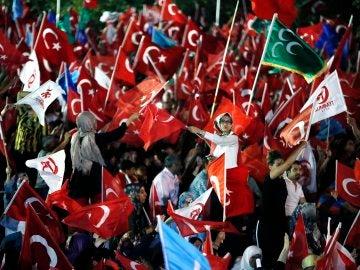 Manifestación en Ankara