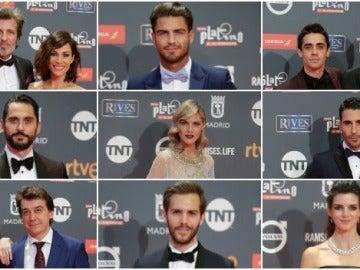 Alfombra roja Premios Platino 2017