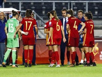 Las chicas de la Selección Española Femenina, Irene Paredes.