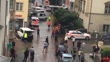 Ataque en Suiza