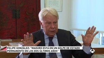 Vicente Vallés entrevista este lunes a las 21:00 al expresidente del Gobierno Felipe González