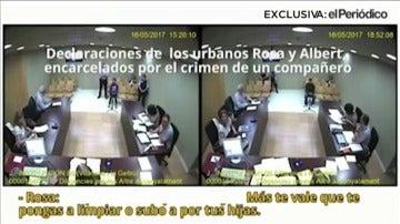 Los guardias urbanos se inculpan mutuamente ante el juez