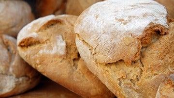 Barras de pan, imagen de archivo