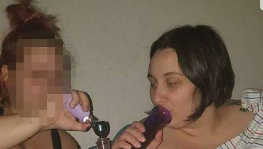 La mujer subió la fotografía a un grupo de Facebook