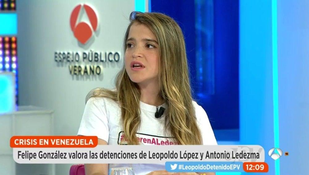 Antena 3 tv entrevista en espejo p blico a antonieta ledezma for Antena 3 espejo publico hoy