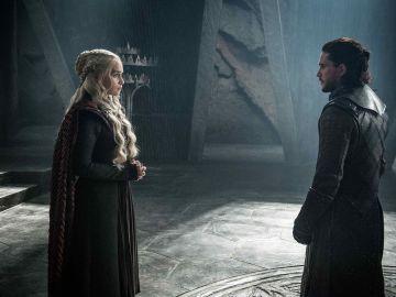 Daenerys Targaryen y Jon Snow, cara a cara