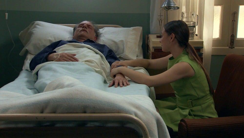 Alba se sincera con su padre