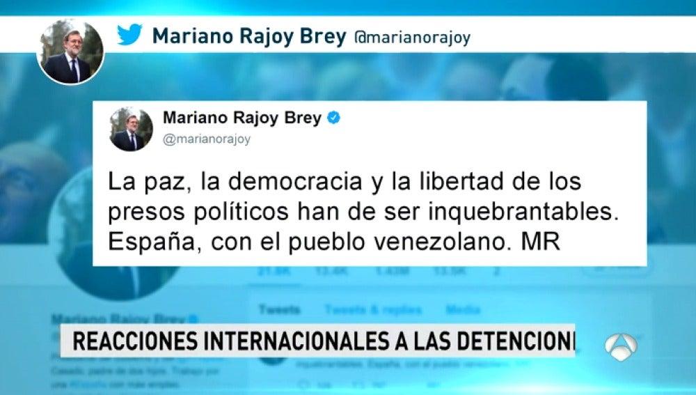Los políticos nacionales y la comunidad internacional piden la liberación de Leopoldo López y Antonio Ledezma