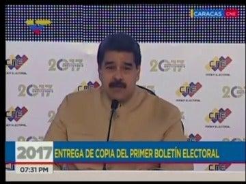"""Maduro afirma que las sanciones impuestas por EEUU son producto del """"odio"""" de Trump"""