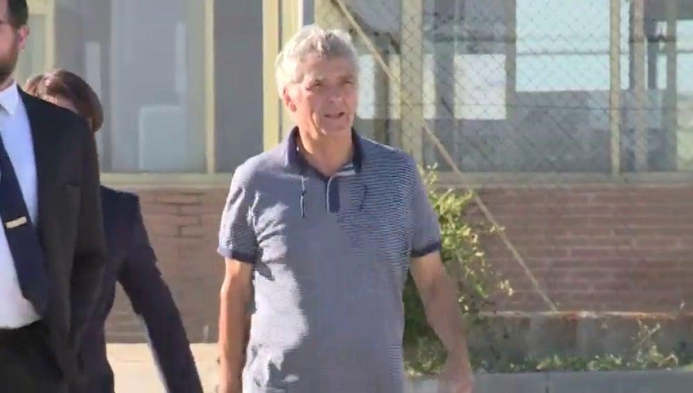 Ángel María Villar y su hijo Gorka salen de prisión tras pagar las fianzas
