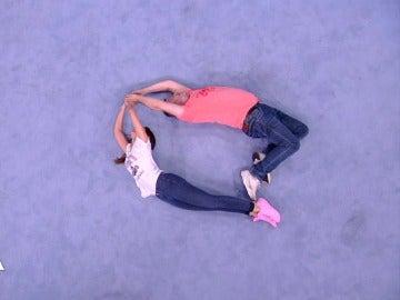 Cristina Pedroche y Miki Nadal en 'Alfabody'
