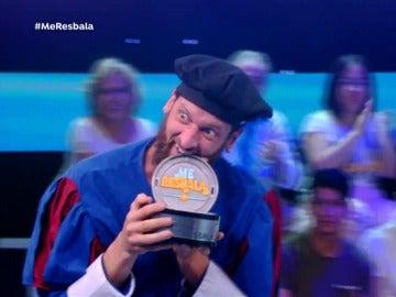 Edu Soto ganador de 'Me Resbala'