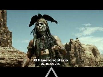 Johnny Depp protagoniza 'El llanero Solitario'