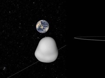 El asteroide 2012 TC4