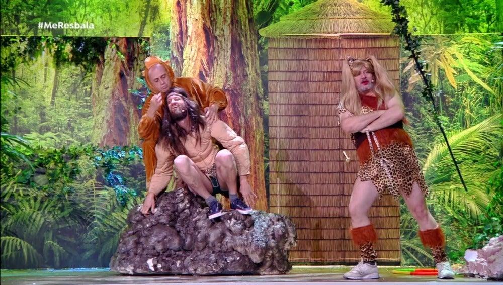 Miki, Soto y Pepe en el 'Teatro de pediente'