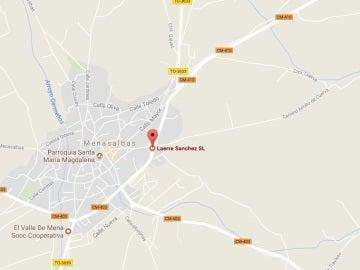 Empresa Laerre Sánchez, situada en el mapa