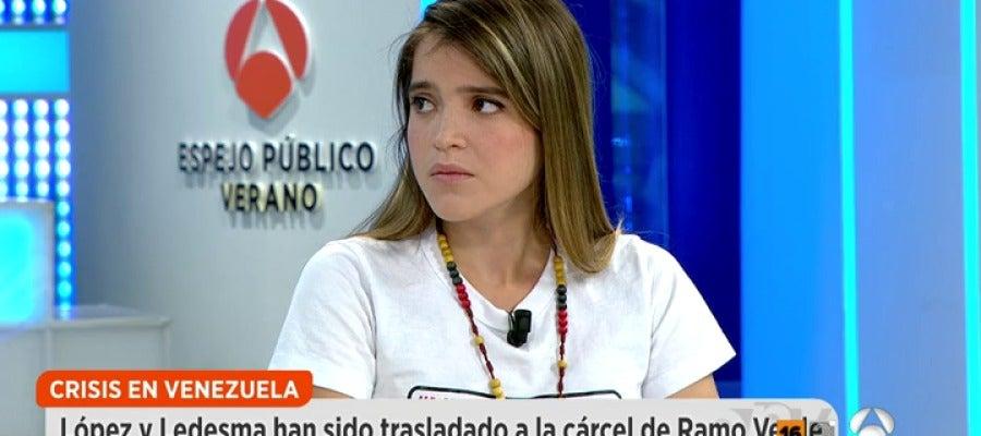 Antena 3 tv antonieta ledezma sigue siendo un for Ver espejo publico hoy
