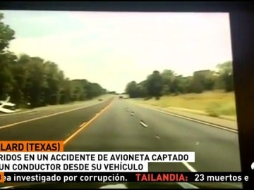 TEXAS ACCIDENTE AVION