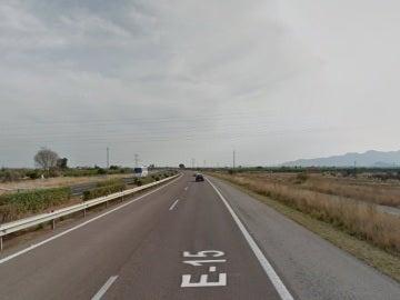 La AP-7, a su paso por Castellón