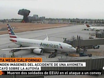 CALIFORNIA ACCIDENTE AVION