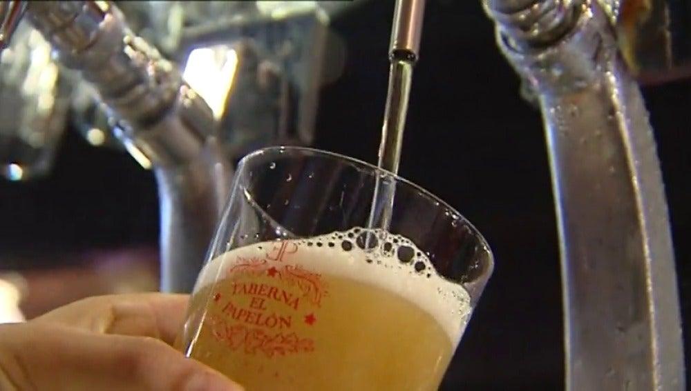 Se dispara el consumo de la cerveza un 3% en España
