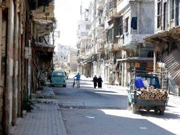 Tropas rusas se despliegan en Siria para garantizar la tregua