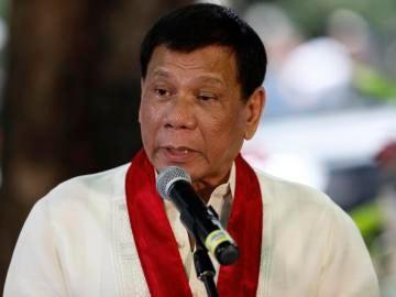 Duterte, presidente de Filipinas