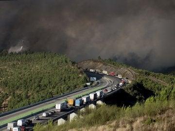 """Incendio de Verín superará """"con creces"""" 500 hectáreas y apunta a intencionado"""