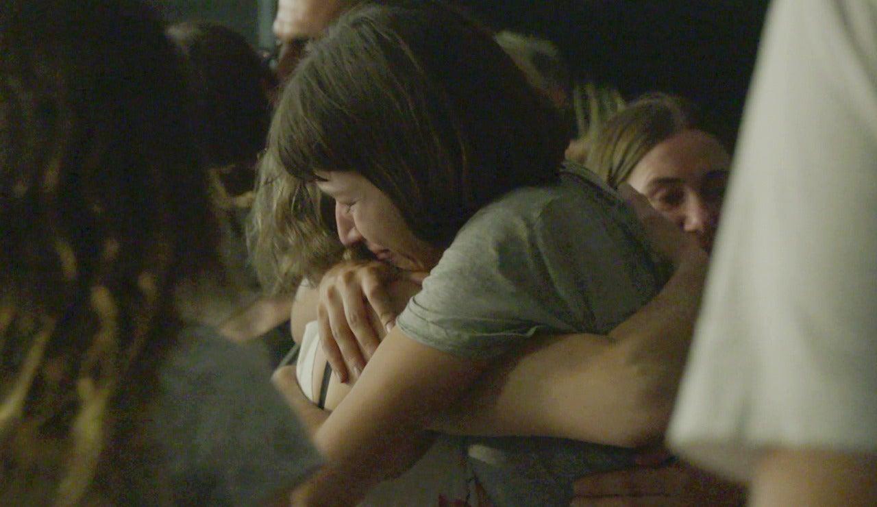 Las lágrimas y la emoción inundan el último día de rodaje de 'La casa de papel'