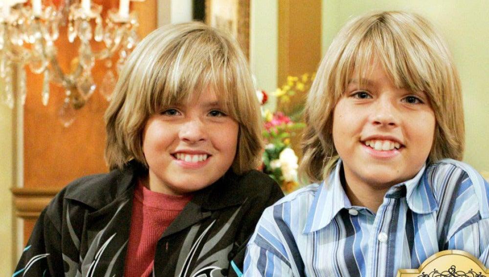 Zack y Cody en 'Hotel dulce hotel'