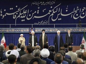 Rohaní es investido presidente de Irán para un segundo mandato