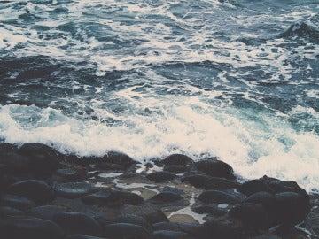 Corriente del mar, imagen de archivo