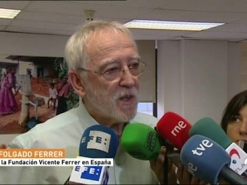 El director de la Fundación Vicente Ferrer, roto de dolor por la muerte de los cuatro cooperantes