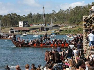Vikingos Catoira, imagen de archivo