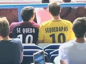 'Se queda', aficionados del PSG