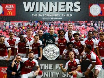 El Arsenal campeón de la Community Shield